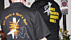 Teamshirts Sex, Darts & Rock'n Roll