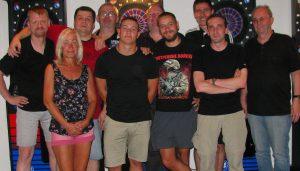 Sex, Darts & Rock'n Roll zu Gast bei den Rangers